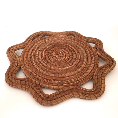 Pine Needle Trivets/ Set of 2 - OUT OF STOCK