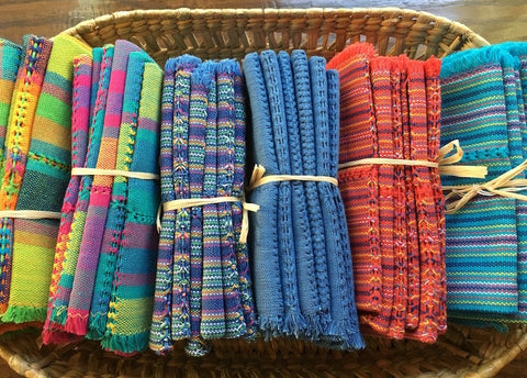 Woven Napkins from Patzcuaro - Set of 6