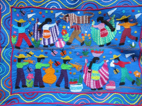 Embroidery from Patzcuaro