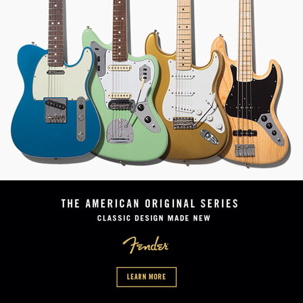 Fender American Original Series Guitar & Basses Announced