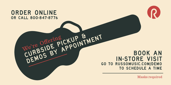 Appointments and Curbside Pickup