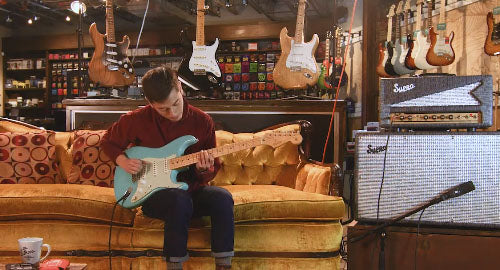 Snacks 059: Fender Custom Shop '64 Stratocaster, Closet Classic, Seafoam Green