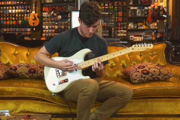 Snacks 095: Fender Parallel Universe Limited Edition Whiteguard Strat, Vintage Blonde