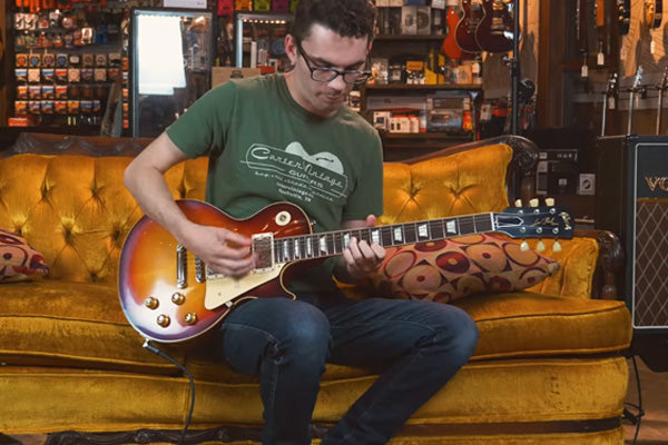 Snacks 098: Gibson Custom Shop '58 Les Paul Standard VOS, Dark Bourbon Burst