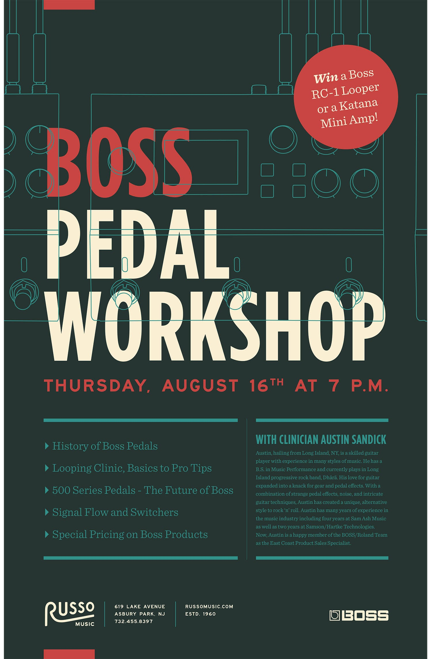 Boss Pedal Workshop
