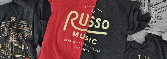 New Russo Music Merch
