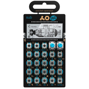 Teenage Engineering Pocket Operator PO-14 Sub - Bass Line Synthesizer And Sequencer