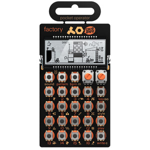 Teenage Engineering Pocket Operator PO-16 Factory - Melody Synthesizer And Sequencer