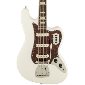 Squier Vintage Modified Bass VI - Rosewood - Olympic White