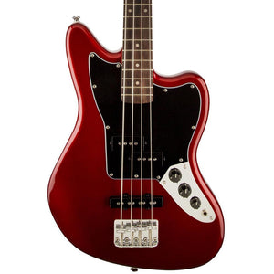 Squier Vintage Modified Jaguar Bass Special SS - Rosewood - Candy Apple Red