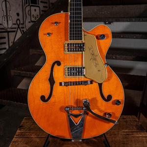 Gretsch G6120T-59 '59 Chet Atkins Hollowbody, Orange Stain - Used