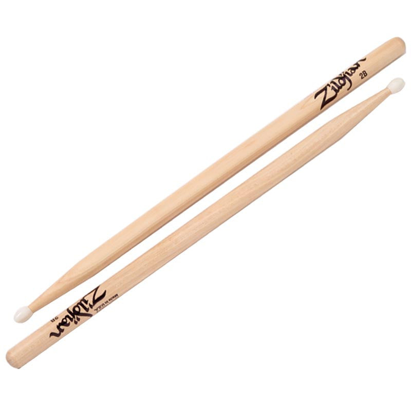 Zildjian 2B Nylon Natural Drumsticks