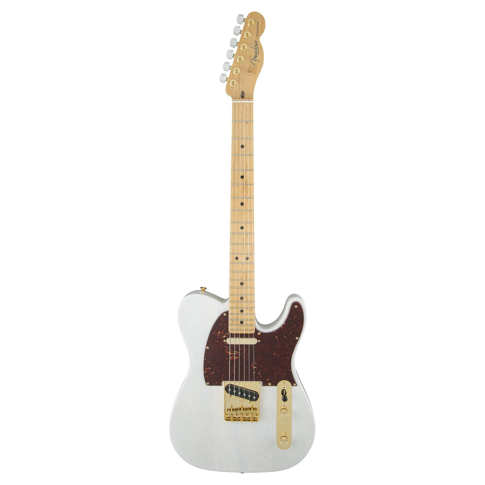Fender Limited Edition Select Light Ash Telecaster - White Blonde