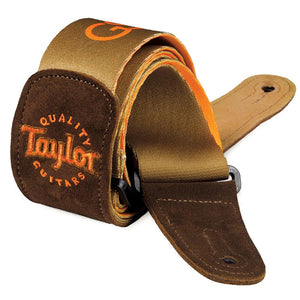 Taylor GS Mini Guitar Strap - Brown Signature