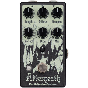 Earthquaker Afterneath V3 Reverb Pedal