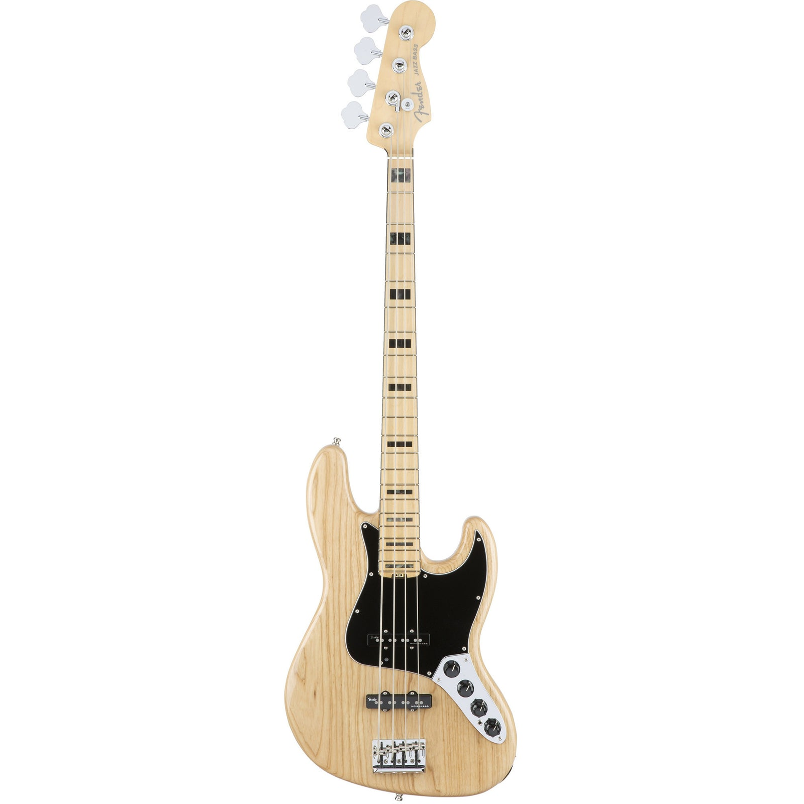Fender American Elite Jazz Bass Ash Maple Neck - Natural