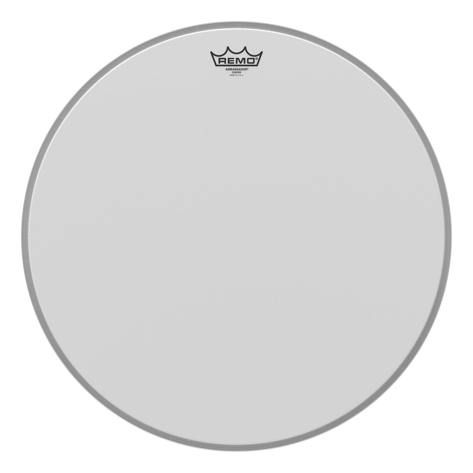 "Remo 20"" Coated Ambassador Bass Drum Head"