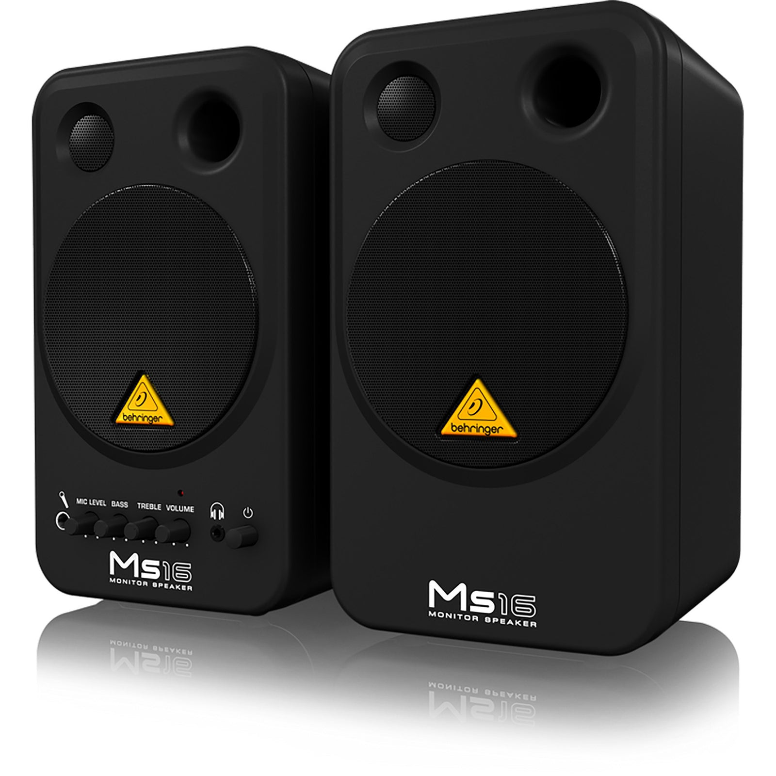 Behringer MS16 2-Way Active Personal Monitor System - 2 Speakers