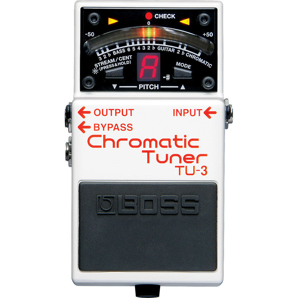 Boss Compact Pedal Tuner TU-3