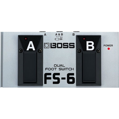 Boss Fs-6 Dual Footswitch (Latch Or Unlatch)