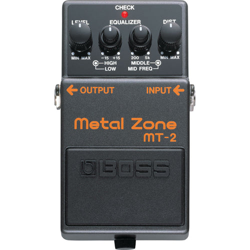 Boss Mt-2 Metal Zone Pedal