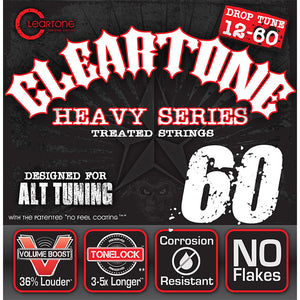 Cleartone Heavy Series .012-.060 Alt Tuning 60