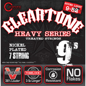 Cleartone Nickel Plated Electric 7 String Light 09-52