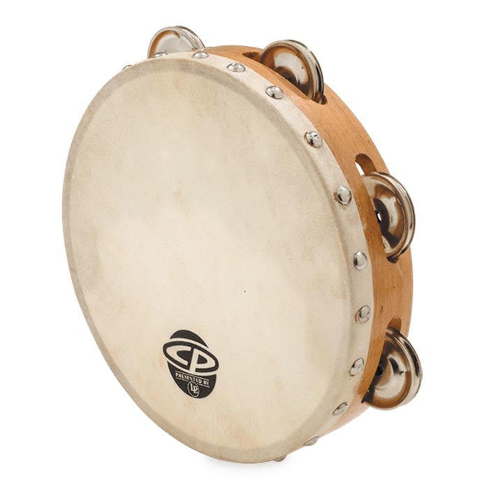 "LP 8"" Tambourine With Head Single Row"