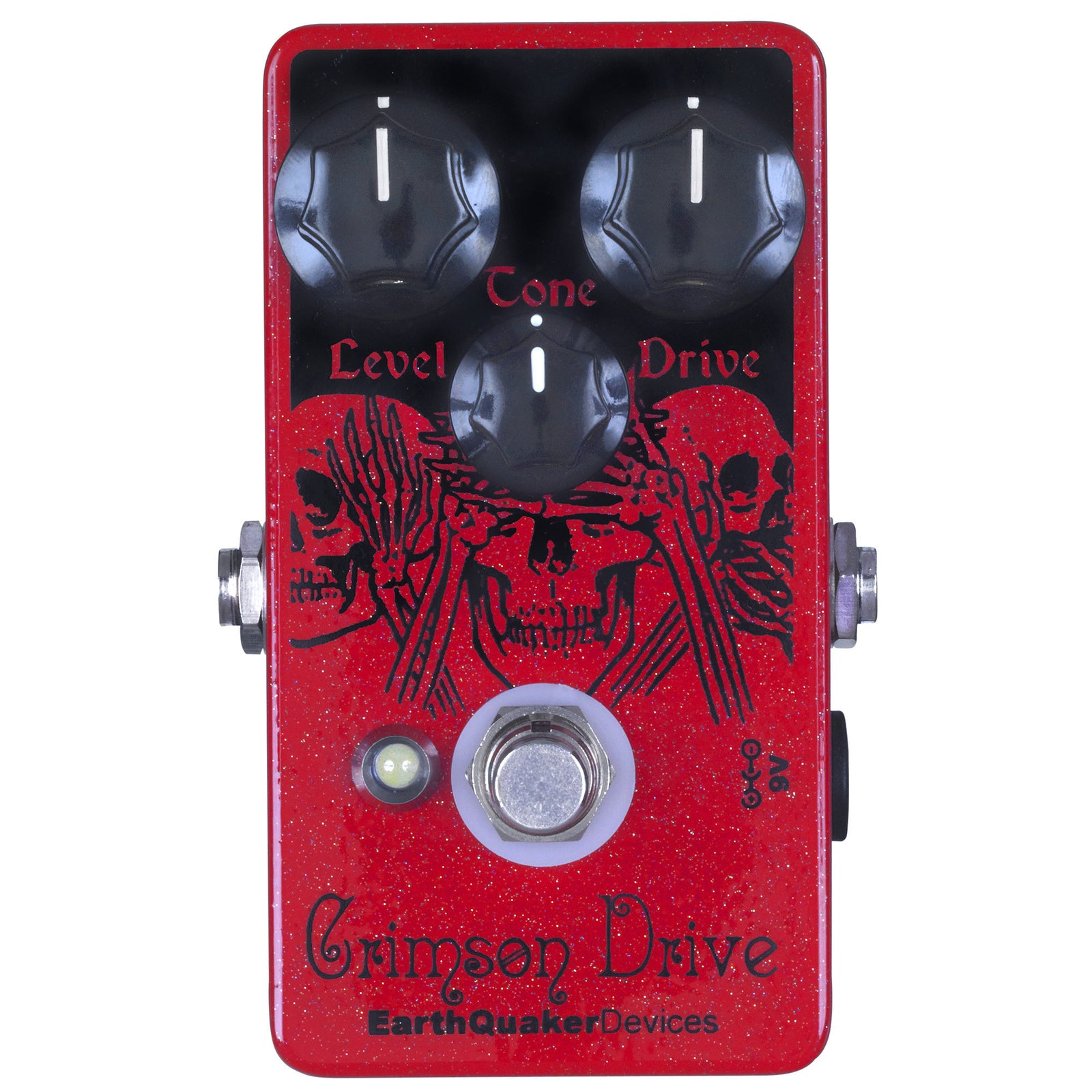 Earthquaker Crimson Drive Germanium Overdrive
