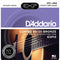 Daddario 11-52 Custom Light Coated 80/20 Bronze Acoustic Strings