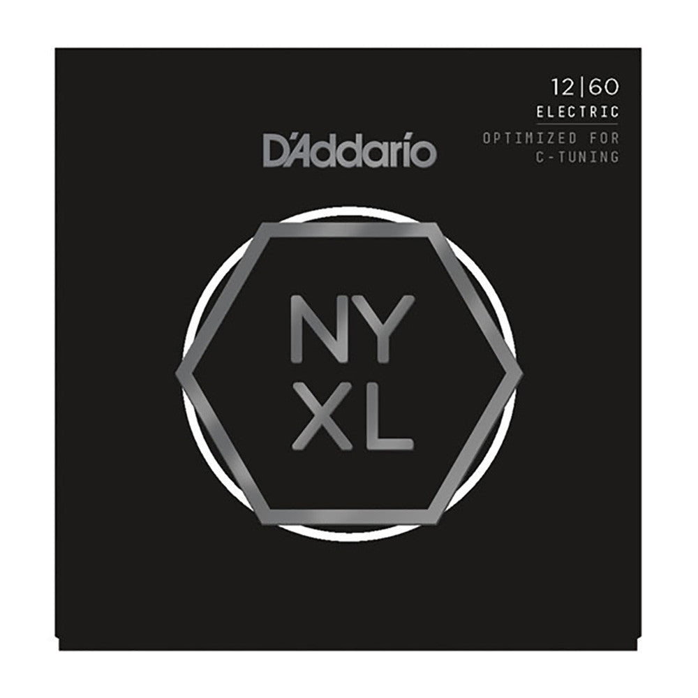Daddario 12-60 NYXL Extra Heavy Nickel Wound Electric Strings