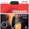 Daddario 13-56 Medium Coated 80/20 Bronze Acoustic Strings