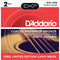 Daddario 13-56 Phosphor Bronze Medium 2Pk. With Free Capo
