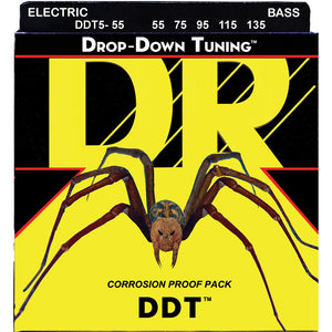 DR Drop Down Tuning Bass 55-135