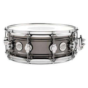 "Drum Workshop 6.5x14"" Design Series Black Nickel Over Brass Snare"