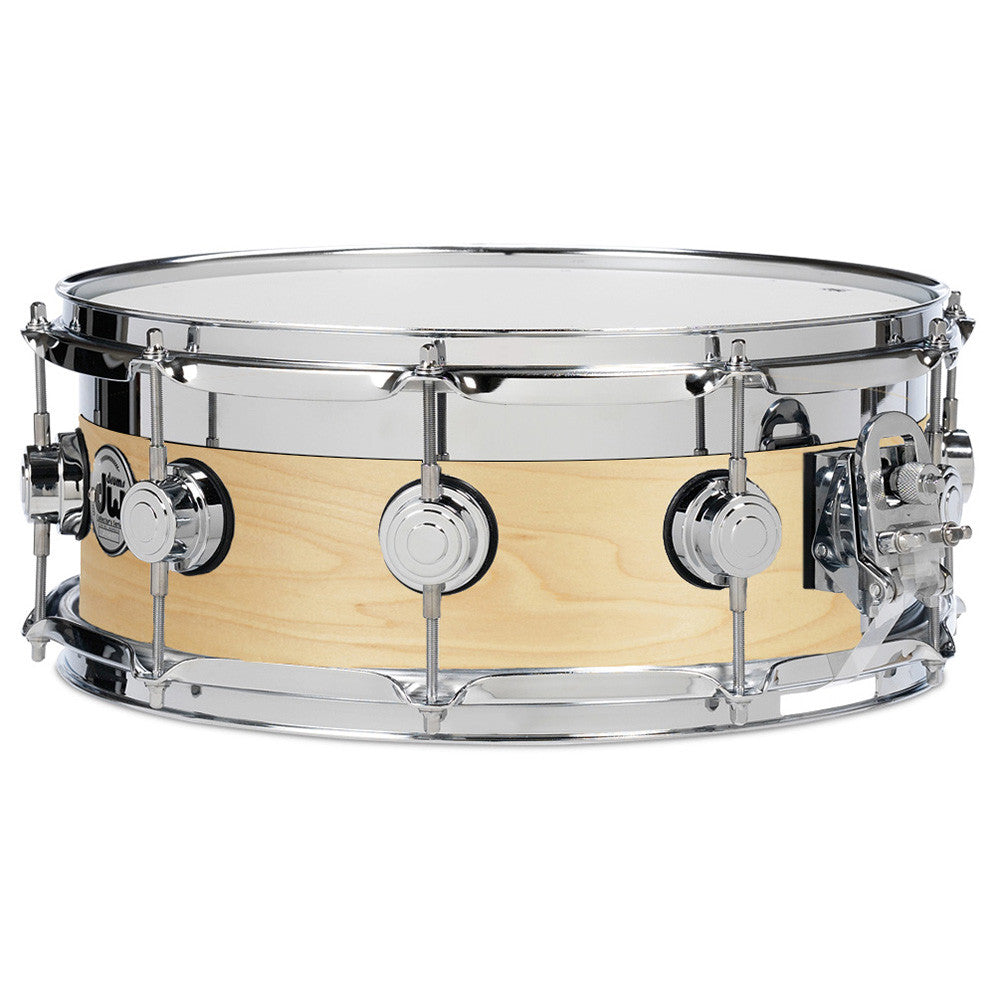 "Drum Workshop 13x5"" Satin Oil Top Edge Snare-Chrome HW"