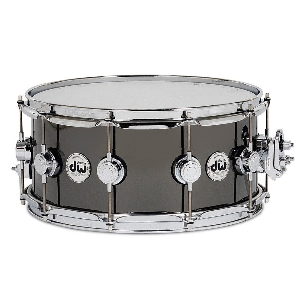 "Drum Workshop 8x14"" Collectors Series Black Nickel Over Brass"