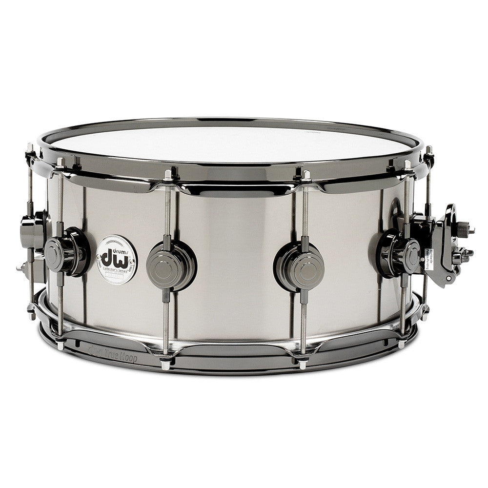 "Drum Workshop 5.5x14"" Titanium Snare - Rolled 1MM Shell"