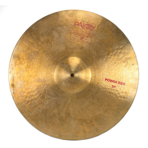 "Paiste 20"" 2002 Power Ride - Used"