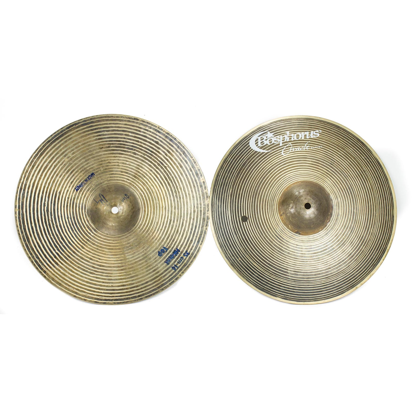"Bosphorus 14"" Oracle Hi Hats 840/1066G - Used"