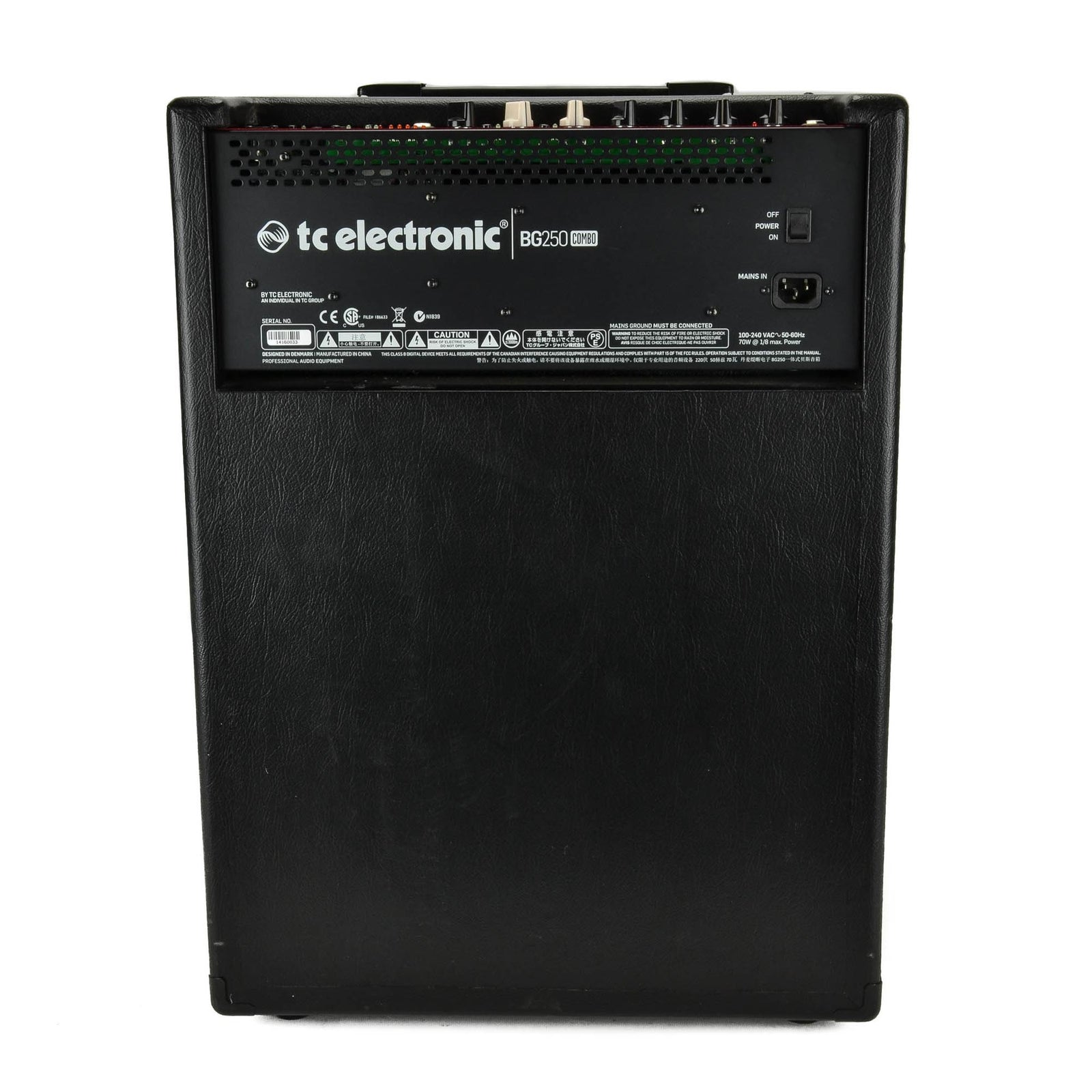 TC Electronic BG250 1x15 Combo With Tone Print - Used