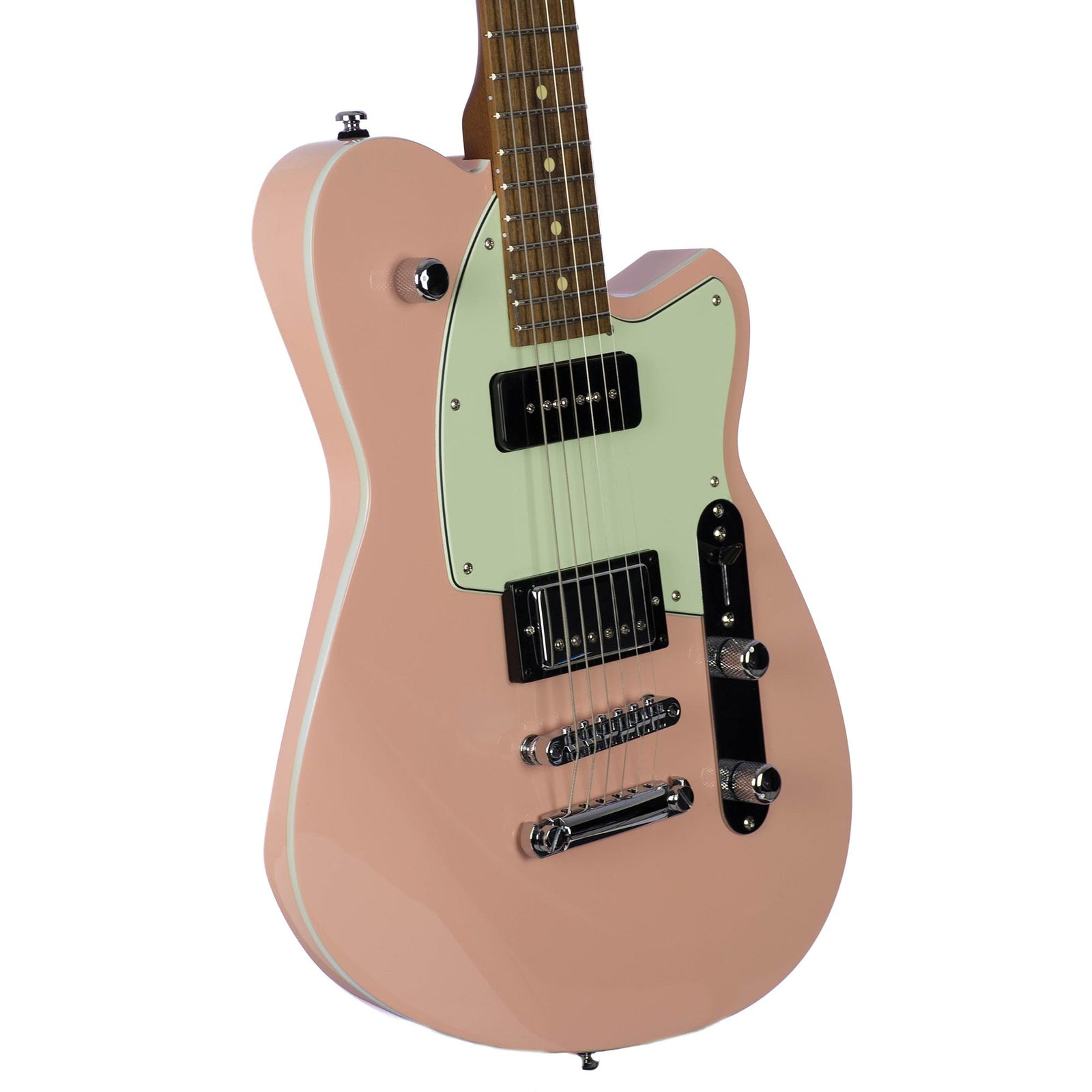 Reverend Double Agent OG Orchid Pink Extra Dark Roasted Neck Russo Music Exclusive