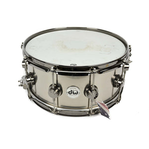 Used Dw Drum Workshop Collectors Series 6.5X14 Titanium Shell