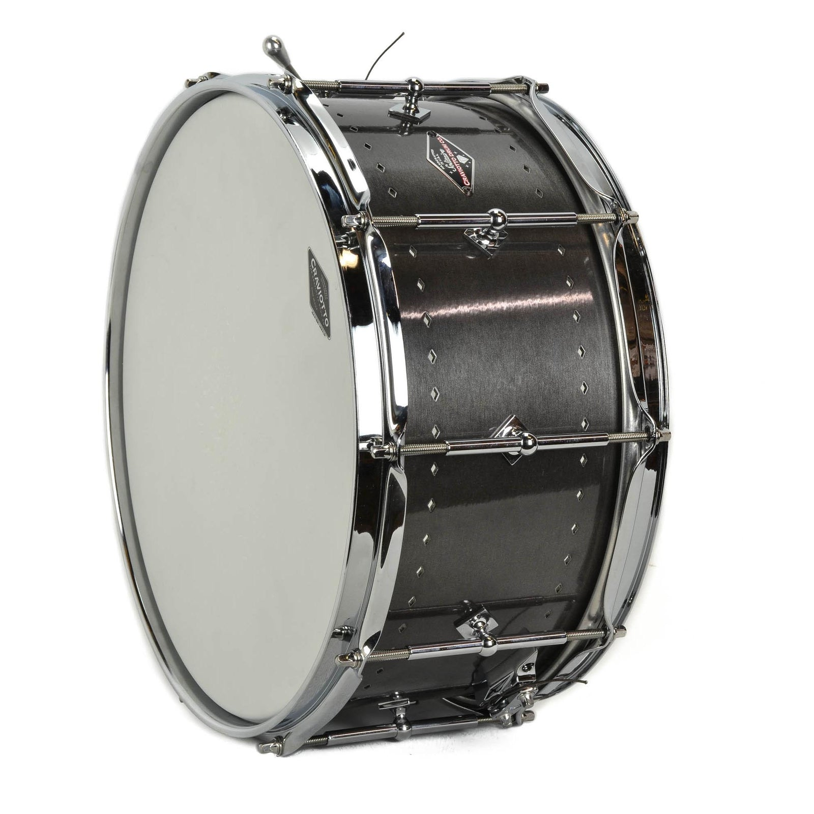 "Craviotto 6.5x14"" Solitaire Snare - Aged Pewter"