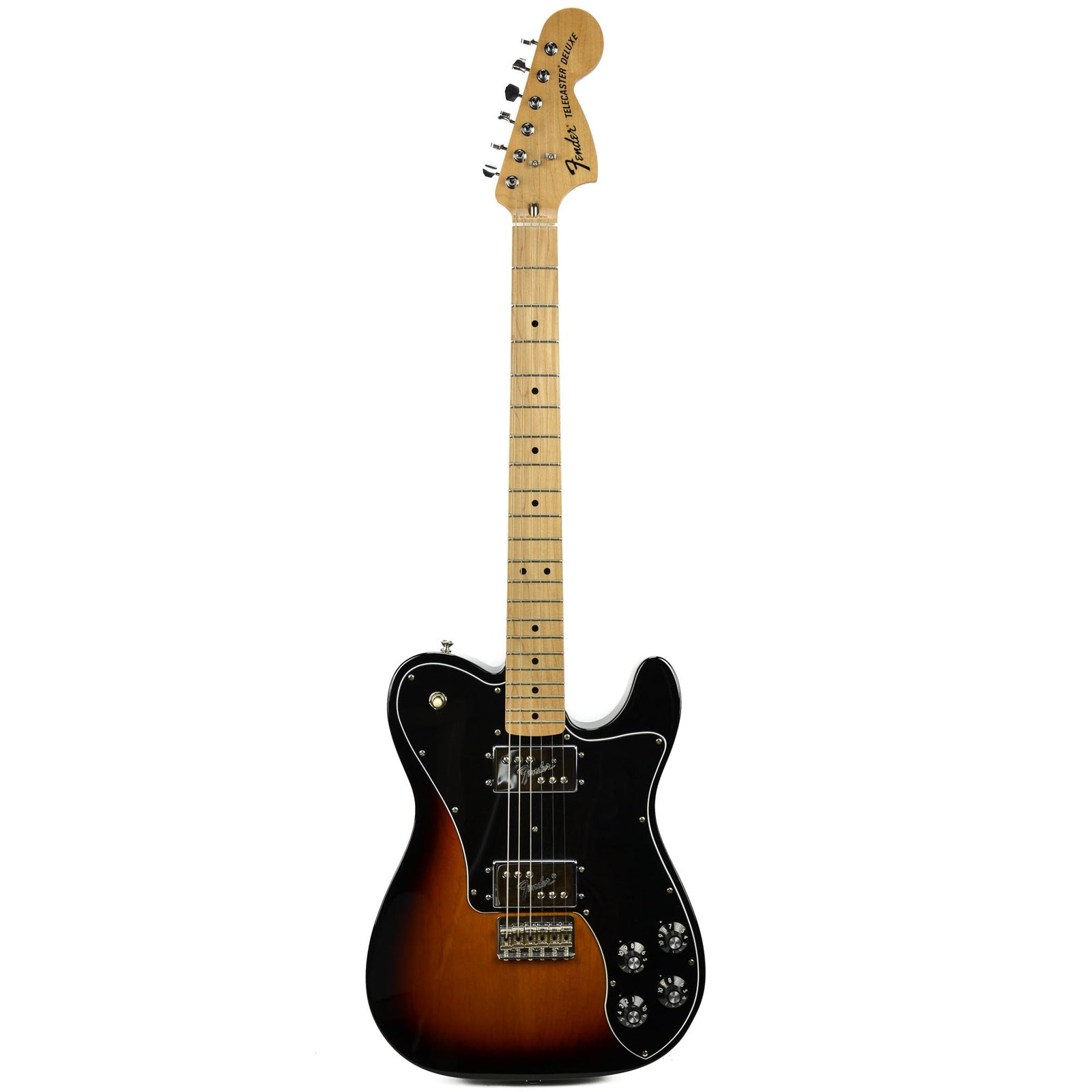 Used Fender Classic Series '72 Telecaster Deluxe, 3-Color Sunburst