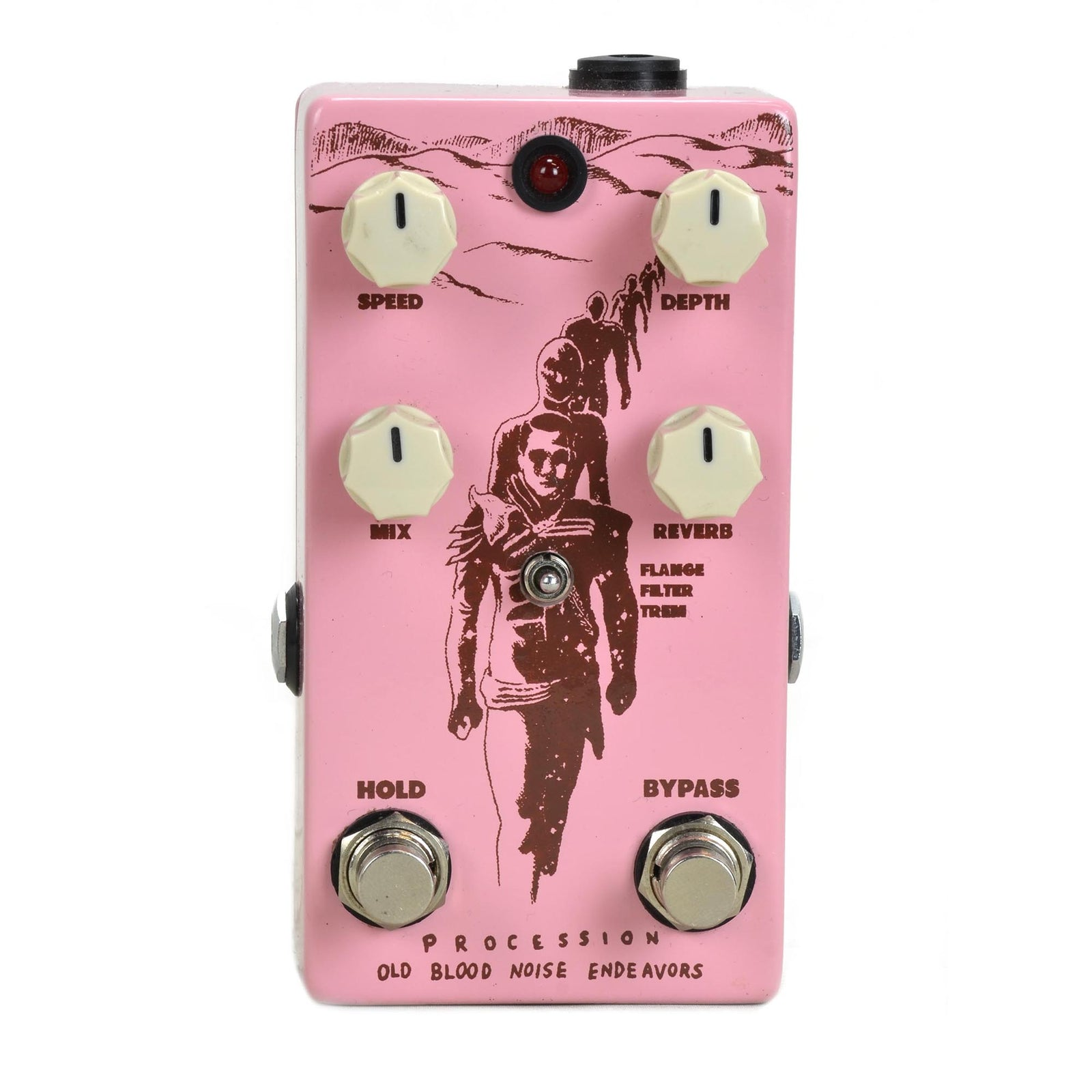Old Blood Noise Procession Reverb - Russo Music Exclusive Pink - Used