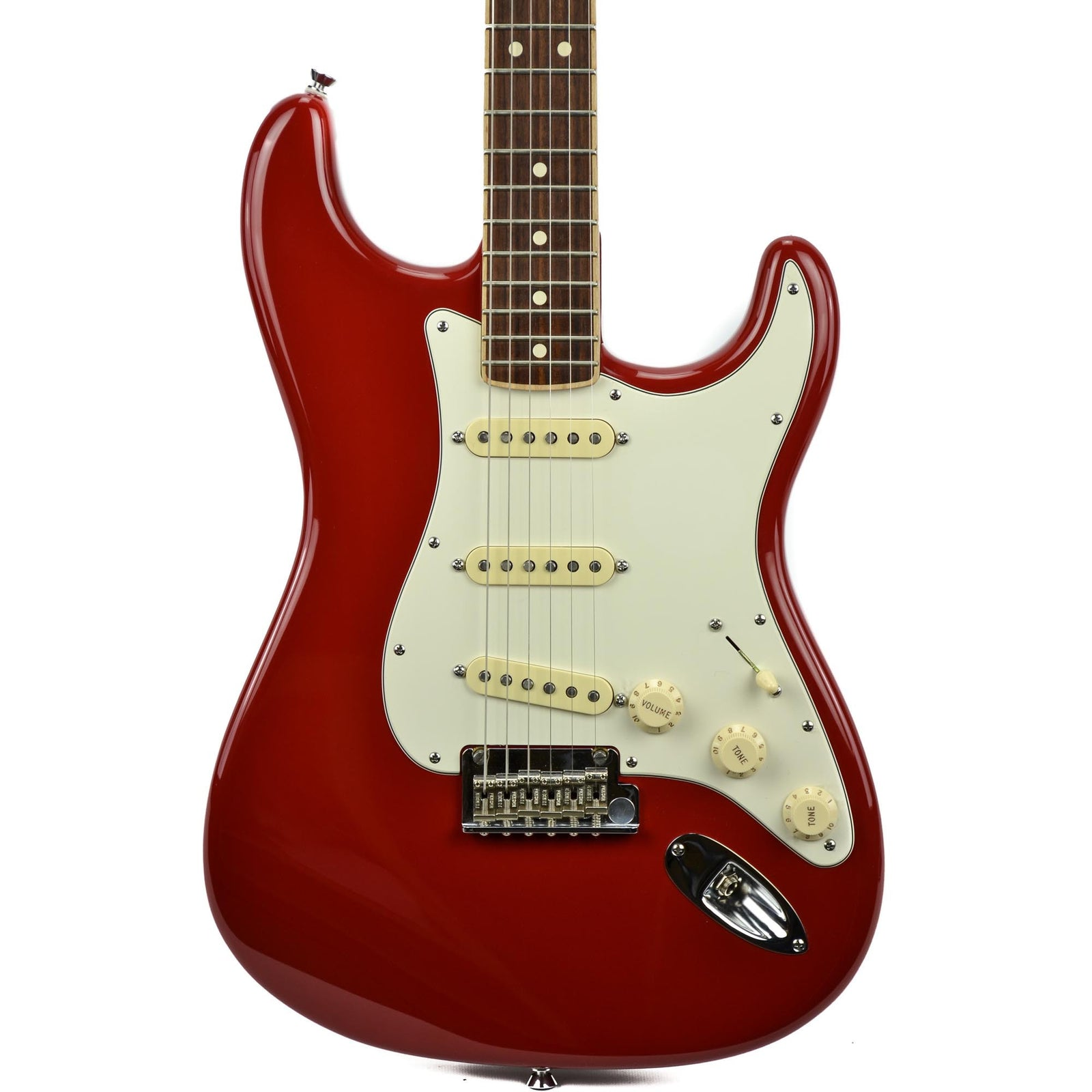 Fender American Standard Stratocaster Channel Bound - Dakota Red