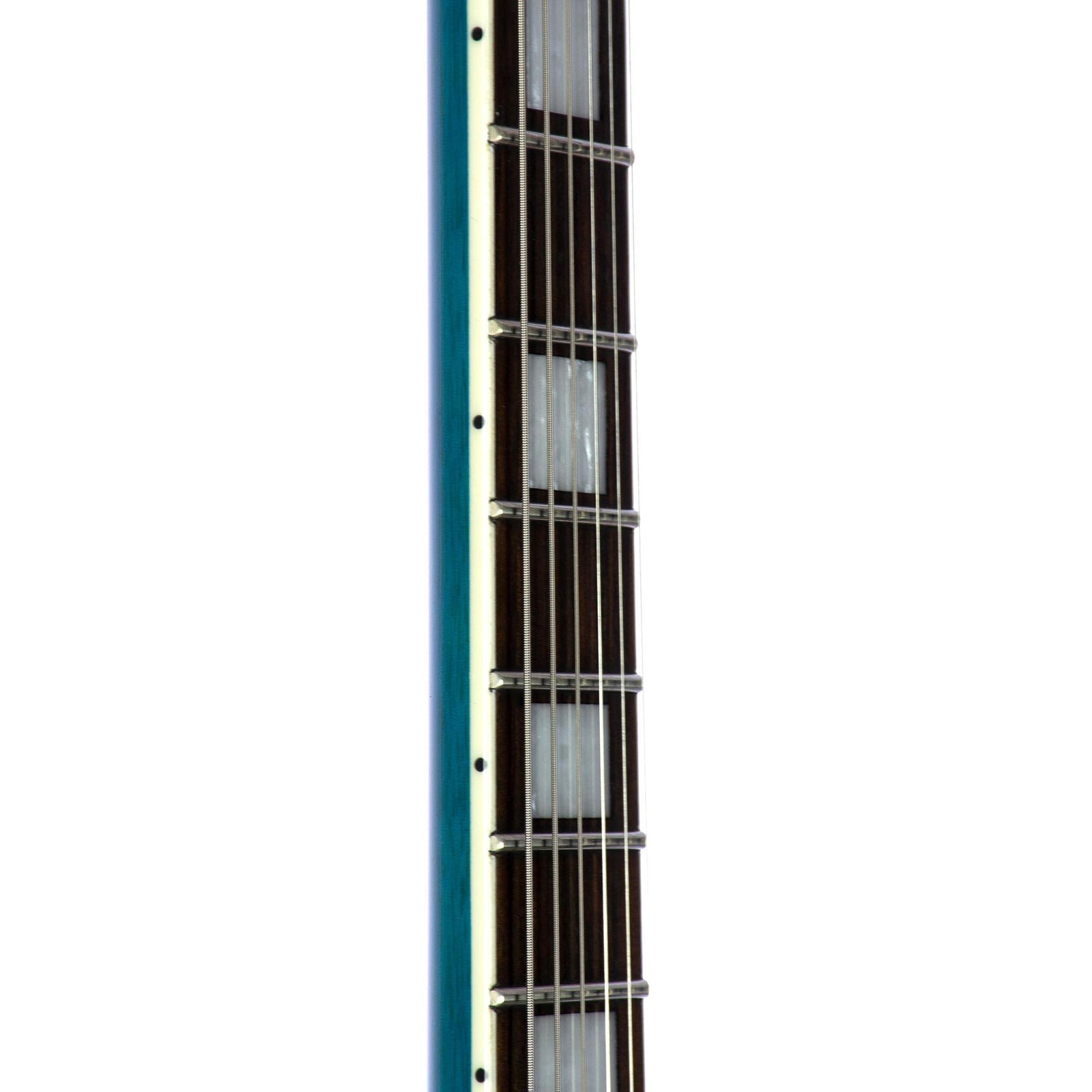 Reverend Manta Ray HB Electric Guitar - Turquoise Flame Maple - Used