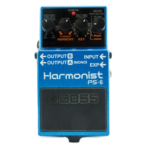 Boss PS6 Harmony Pedal - Used
