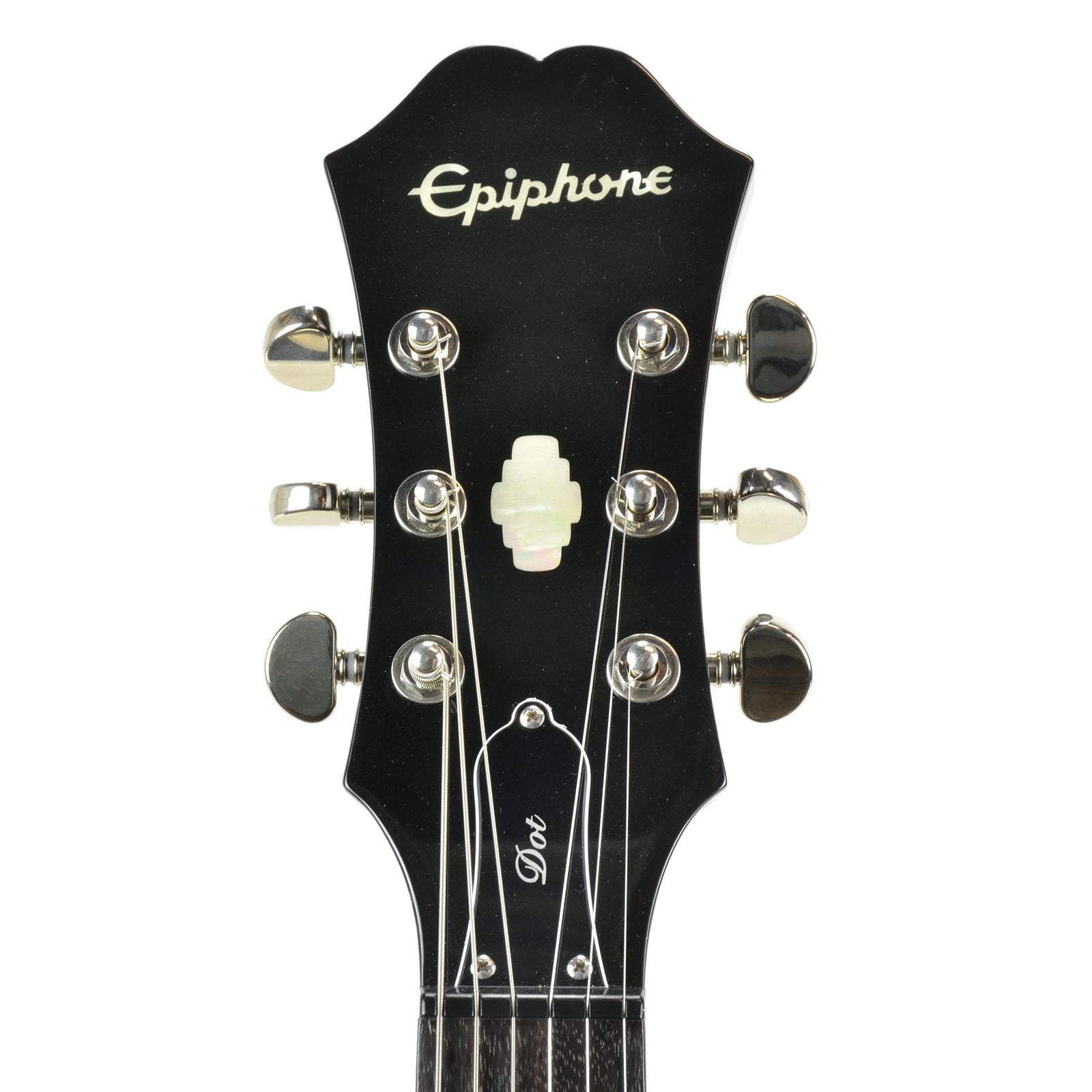 Epiphone Dot Ebony With Epiphone Hard Case - Used